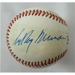 LeRoy Neiman Signed ONL Baseball (JSA LOA)