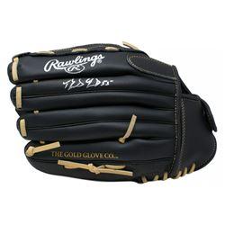 Domingo German Signed Rawlings Baseball Glove (JSA COA)
