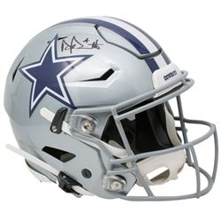 Dak Prescott Signed Dallas Cowboys Full-Size Authentic On-Field SpeedFlex Helmet (Beckett COA  Presc