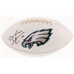 Zach Ertz Signed Philadelphia Eagles Logo Football (Radtke COA)