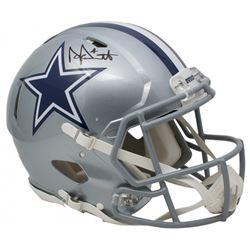Dak Prescott Signed Dallas Cowboys Full-Size Authentic On-Field Speed Helmet (Sports Integrity COA