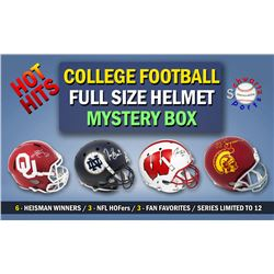 Schwartz Sports HOT HITS Signed College Football Full-Size Helmet Mystery Box – Series 2 – (Limi