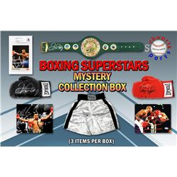 Boxing Collection Mystery Box - Series 3 (Limited to 100) (3 Boxing Autographs Per Box) (Pristine Ex