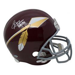 "Sonny Jurgensen Signed Washington Redskins Throwback Full-Size Helmet Inscribed ""HOF 83"" (Beckett CO"
