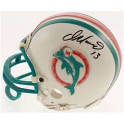 Dan Marino Signed Miami Dolphins Mini-Helmet (UDA COA)