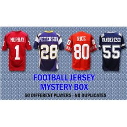 Schwartz Sports Football Superstar Signed Football Jersey Mystery Box - Series 21 (Limited to 50) -