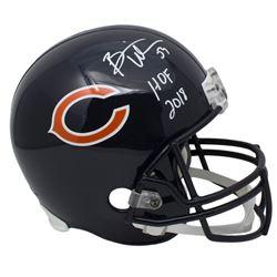 """Brian Urlacher Signed Chicago Bears Full-Size Helmet Inscribed """"HOF 2018"""" (JSA COA)"""