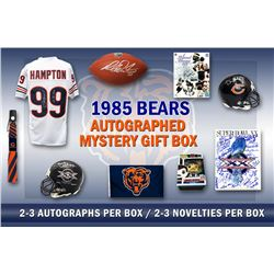 1985 Chicago Bears World Champs Mystery Autograph Gift Box – Series 7 (Limited to 85) – **Grand