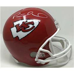 Patrick Mahomes Signed Kansas City Chiefs Full-Size Helmet (Fanatics Hologram)