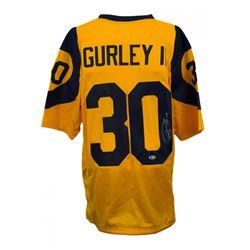Todd Gurley Signed Jersey (Beckett COA)