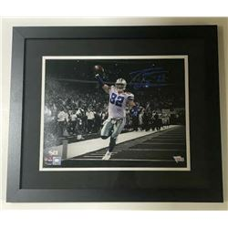 Jason Witten Signed Dallas Cowboys 15x18 Custom Framed Photo (Fanatics Hologram)