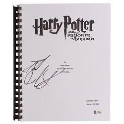 "Daniel Radcliffe Signed ""Harry Potter and the Prisoner of Azkaban"" Movie Script (Beckett COA)"