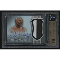 2017 Topps Dynasty Autograph Patches #APFM4 Floyd Mayweather Jr. #08/10 (BGS 9.5)