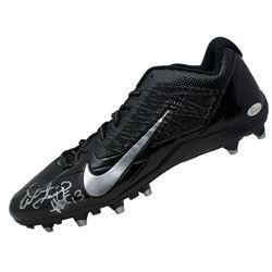 """Warren Sapp Signed Nike Cleat Inscribed """"HOF 13"""" (JSA COA)"""