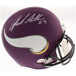 Jared Allen Signed Minnesota Vikings Full-Size Helmet (Beckett COA)