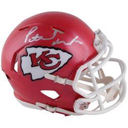 Patrick Mahomes Signed Kansas City Chiefs Mini Speed Helmet (Fanatics Hologram)
