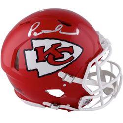 Patrick Mahomes Signed Kansas City Chiefs Full-Size Authentic On-Field Speed Helmet (Fanatics Hologr