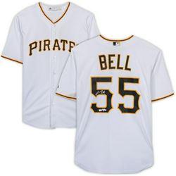 Josh Bell Signed Pittsburgh Pirates Jersey (Fanatics Hologram)