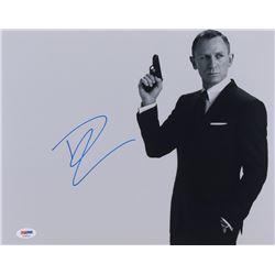 "Daniel Craig Signed ""007"" 11x14 Photo (PSA COA)"