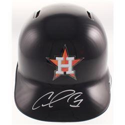 Carlos Correa Signed Houston Astros Authentic Full-Size Batting Helmet (PSA COA)