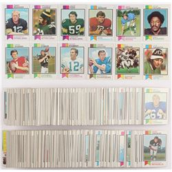 1973 Topps Football Complete Set of (528) Cards with #487 Ken Stabler RC, #475 Roger Staubach, #455