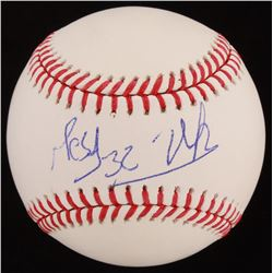 OML Baseball Signed by Victor Victor Mesa  Victor Mesa Jr. (JSA COA)