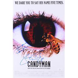 """Virginia Madsen  Tony Todd Signed """"Candyman"""" 12x18 Photo (JSA COA)"""