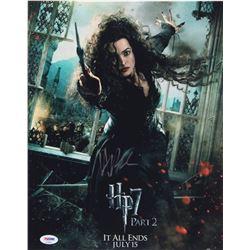 "Helena Bonham Carter Signed ""Harry Potter  the Deathly Hallows Pt. 2"" 11x14 Photo (PSA Hologram)"