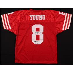 """Steve Young Signed Jersey Inscribed """"SB XXIX"""" (Young Hologram)"""