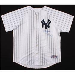 "Roger Clemens Signed New York Yankees Jersey Inscribed ""WSC 99, 00"" (TriStar Hologram)"
