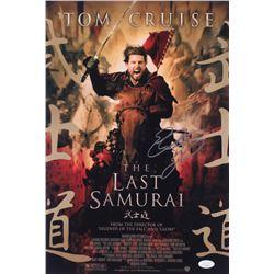 "Edward Zwick Signed ""The Last Samurai"" 12x18 Photo (JSA COA)"