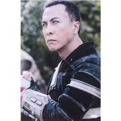 """Donnie Yen Signed """"Rogue One: A Star Wars Story"""" 12x18 Photo (JSA COA)"""