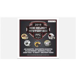 Press Pass Collectibles 2019 Mini Helmet Mystery Box – Series 1 (Limited to 50)