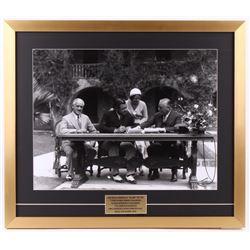 Babe Ruth New York Yankees 22x25.5 Custom Framed Photo Display