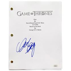 "Mark Addy Signed ""Game of Thrones: Pilot"" Episode Script (JSA COA)"