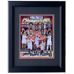 Toronto Raptors 2019 NBA Champions 11x14 Custom Framed Photo Display
