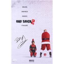 """Billy Bob Thornton Signed """"Bad Santa 2"""" 12x18 Photo (JSA COA)"""