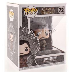 "Kit Harington Signed ""Game of Thrones"" #72 Jon Snow Funko Pop Figure (Radtke COA)"