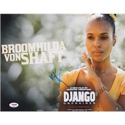 """Kerry Washington Signed """"Django Unchained"""" 11x14 Photo (PSA Hologram)"""