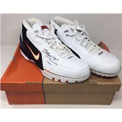 LeBron James Signed Original Air Zoom Generation Basketball Shoes (UDA COA)