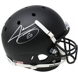 Jarvis Landry Signed Full-Size Matte Black Helmet (JSA COA)