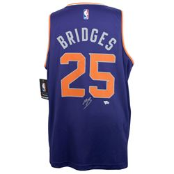 Mikal Bridges Signed Phoenix Suns Fanatics Fast Break Jersey (Fanatics Hologram)