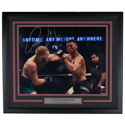 Conor McGregor Signed UFC 22x27 Custom Framed Photo Display (Fanatics Hologram)