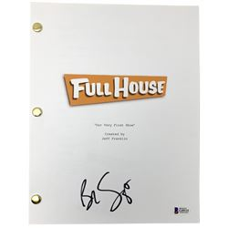 "Bob Saget Signed ""Full House: Our Very First Show"" Episode Script (Beckett COA)"