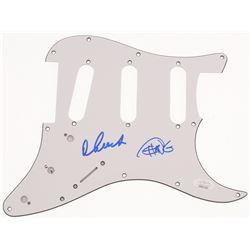 Tommy Chong  Cheech Marin Signed Pickguard (JSA COA)