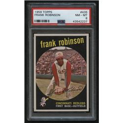 1959 Topps #435 Frank Robinson (PSA 8)