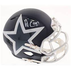 Amari Cooper Signed Dallas Cowboys AMP Alternate Speed Mini Helmet (Beckett COA  Cooper Hologram)