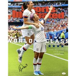 Alex Morgan Signed Team USA 16x20 Photo (JSA COA)