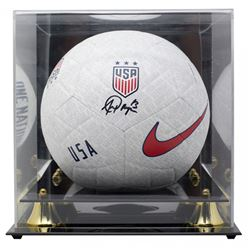 Alex Morgan Signed Team USA Logo Nike Soccer Ball with Display Case (JSA COA)