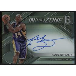 2017-18 Panini Spectra In The Zone Autographs #5 Kobe Bryant #54/99